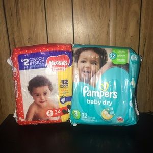 Pamper Baby Diapers Size 3